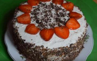 4 вкуснейших торта с клубникой – выбирай, готовь и наслаждайся!