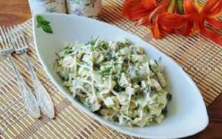 Салат с курицей и огурцами – 10 вкусных рецептов