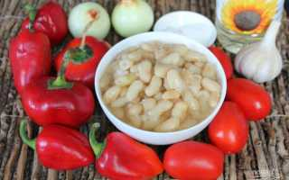 Салаты с фасолью и болгарским перцем: рецепты с фото