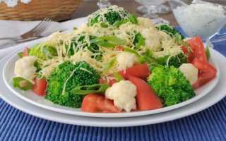 Салат из цветной капусты — 8 рецептов приготовления
