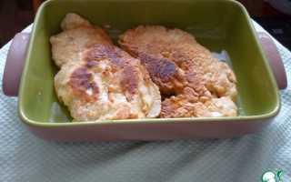 Пошаговый рецепт приготовления куриных отбивных в кляре на сковороде