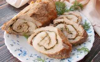 Рулет из свинины в фольге в духовке – сытно и вкусно! Разные, ароматные и необычные рецепты рулетов из свинины в фольге в духовке