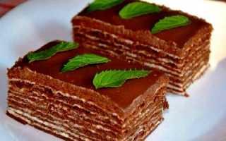 Секреты приготовления торта «Спартак» в домашних условиях (рецепт с фото)