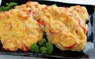 Мясо в духовке с помидором и сыром: как запекать