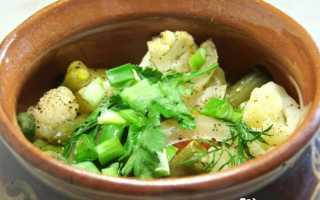Как вкусно приготовить овощи в горшочках в духовке