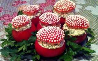 Как приготовить фаршированные помидоры? Рецепт с сыром и чесноком