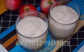 Рецепт: яблочный мусс на манной крупе