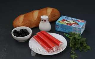 Бутерброды с сёмгой и фетой