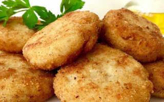 Картофельные котлеты с фаршем внутри: пошаговый рецепт с фото