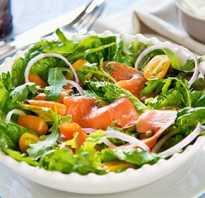 Салаты с красной рыбой: 9 рецептов пошагового приготовления с креветками, авокадо, без майонеза, слоями