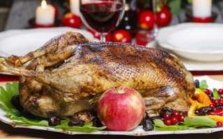 Гусь в духовке – 9 рецептов приготовления