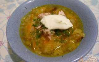 Рецепты лёгкого овощного супа с капустой и кабачками