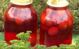 Компот из сливы на зиму — Лучшие рецепты на 3 литровую банку