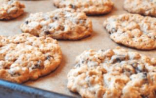 Банановое печенье — 6 рецептов выпекания