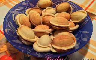 Тесто на орешки в орешнице классический рецепт