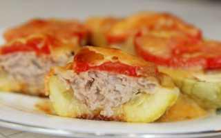 Кабачки с фаршем, запеченные в духовке: 4 рецепта фаршированных кабачков