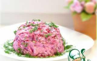 Рецепты лучших салатов на основе свеклы и сыра –