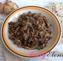 Гречка с грибами — 7 рецептов приготовления