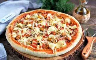 Пицца с морепродуктами: рецепты приготовления