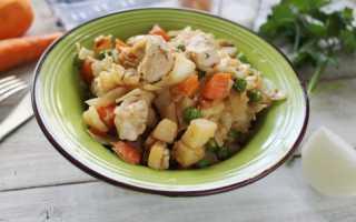 8 рецептов овощного рагу с курицей