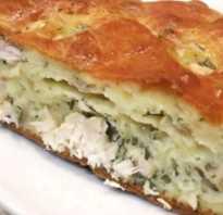 Заливной пирог с курицей — 6 рецептов приготовления