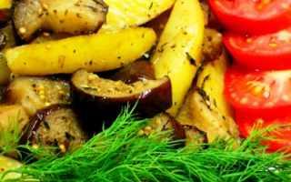 Картофель с баклажанами в духовке – чем больше, тем лучше! Рецепты запеченных блюд из картофеля с баклажанами в духовке