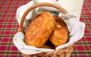 Пирожки с капустой жареные на сковороде — 6 рецептов