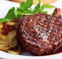 Свиной антрекот в духовке: рецепты и особенности приготовления