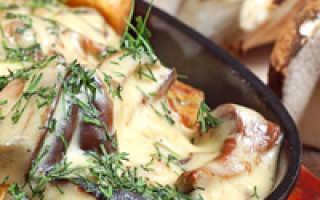 Картошка с шампиньонами в мультиварке: фото и рецепты, как приготовить блюда с грибами