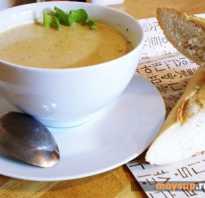 Сливочный суп-пюре – экспериментируем с ингредиентами