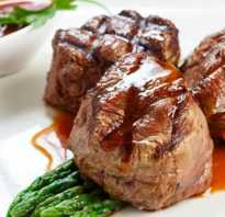 Медальоны из говядины (телятины) – рецепт