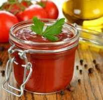 Кетчуп с крахмалом: рецепт на зиму