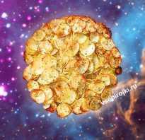 Картошка в духовке с сыром запеченная