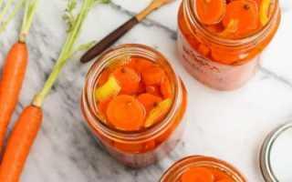 Маринованная морковь: популярные рецепты с фото