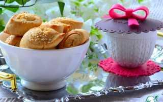 Cырное печенье с плавленным сыром рецепт