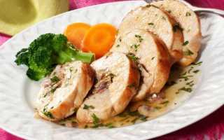 Куриный рулет в духовке — 11 вкусных рецептов