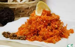Салат морковь имбирь
