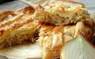 Луковый пирог – 10 вкуснейших рецептов с фото пирога с луком