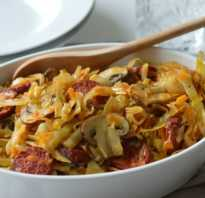 Приготовление капусты с грибами: фото и рецепты, как вкусно приготовить блюда из грибов и капусты