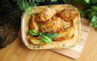 Картошка дольками с сыром в духовке