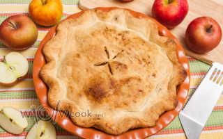 Американский яблочный пирог – 8 рецептов приготовления