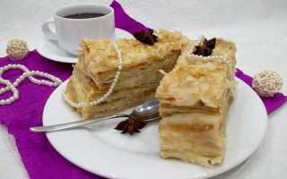 Торт «Наполеон» из готового слоеного теста – самые простые рецепты вкусного десерта