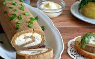 Что приготовить из печени — рецепт печеночных рулетов с начинкой