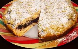 Пирог с вареньем на скорую руку — когда захотелось сладкого