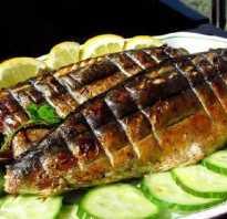 Готовим скумбрию на мангале в решетке. Рецепты запеченной рыбы + маринад