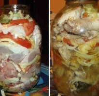 Курица в банке в духовке — 7 рецептов
