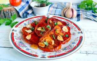 Рецепты жареных помидоров