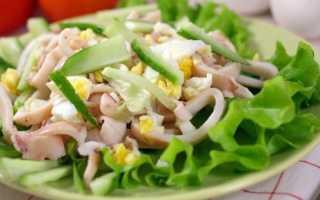 Салат с кальмарами и яйцом – классические и оригинальные рецепты –