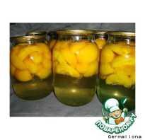 Рецепты приготовления компота из персиков на зиму