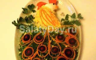 Салат «Жар-птица» с курицей и опятами: рецепты от опытных поваров